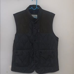 Dark Green River Island Vest